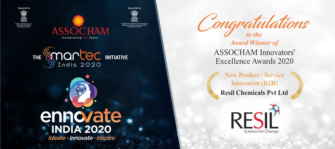 Resil won ASSOCHAM Ennovate India 2020 Award